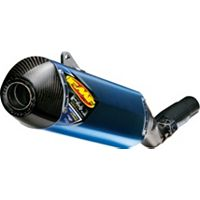 FMF Factory 4.1 Titanium Slip-On RCT - Carbon Fiber
