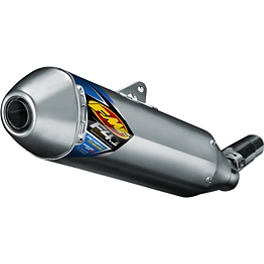 FMF Factory 4.1 Titanium Slip-On RCT - Natural - 2011 Suzuki RMZ250 FMF Ti4 Spark Arrestor End Cap
