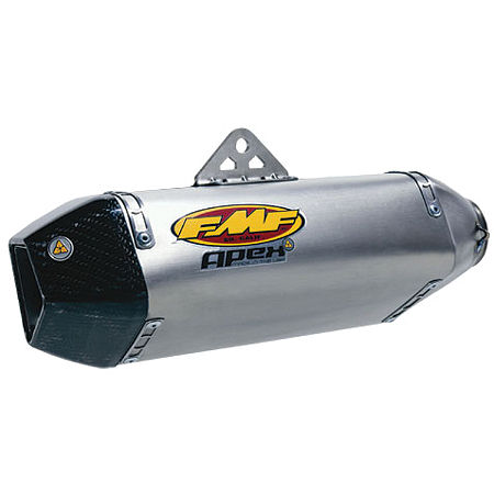 FMF Apex Slip-On Exhaust - Titanium - Single - Main