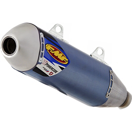 FMF Titanium Powercore Slip-On Exhaust - Blue Anodized Titanium - 2013 KTM 350XCF FMF Factory 4.1 Spark Arrestor Insert