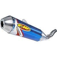 FMF Titanium Powercore Slip-On Exhaust - Blue Anodized Titanium