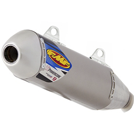 FMF Titanium Powercore HEX Slip-On Exhaust - Natural - 2013 KTM 350SXF FMF Factory 4.1 Spark Arrestor Insert