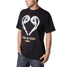 FMF Love This Sound T-Shirt - Alpinestars Wooden T-Shirt