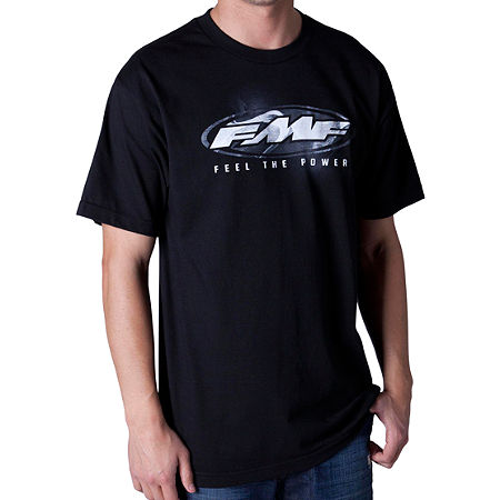 FMF Black Tie T-Shirt - Main