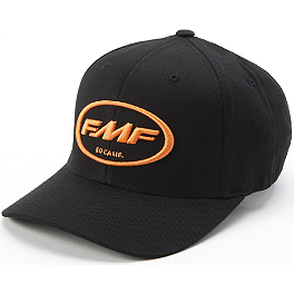 FMF Factory Classic Don Flexfit Hat - Shoei Pinstripe Flexfit Hat