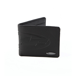 FMF Debossed Wallet - Metal Mulisha Pained Jersey
