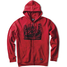 FMF Zeroxed Zip Hoody - Alpinestars Shattered Zip Hoody