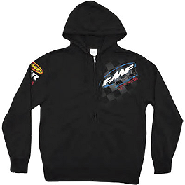 FMF JGR SX Zip Hoody - Fox Schematica Zip Front Fleece
