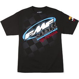 FMF JGR SX T-Shirt - 2013 We All Ride Motosport Supercross Sponsor Tech T-Shirt
