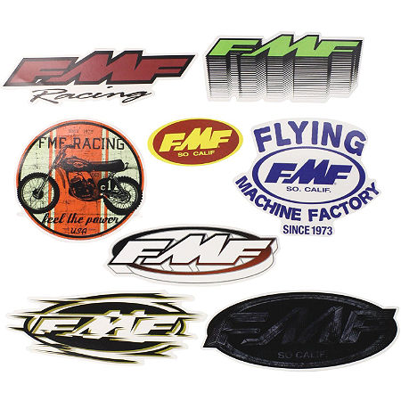 FMF 8-Pack Sticker Kit - Main