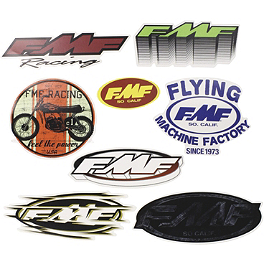 FMF 8-Pack Sticker Kit - KTM Powerwear KTM Sticker Sheet