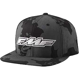 FMF All Over It Camo Snapback Hat - Dragon Overdrive T-Shirt