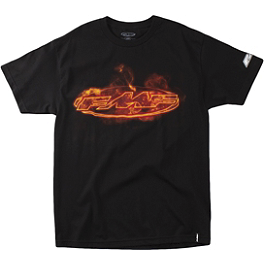 FMF Burn T-Shirt - Metal Mulisha Goggle Rockstar T-Shirt