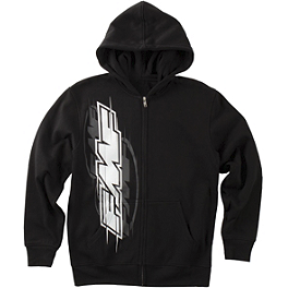 FMF Youth Swiper Zip Hoody - One Industries Youth Knock Out Full Zip Fleece Hoody