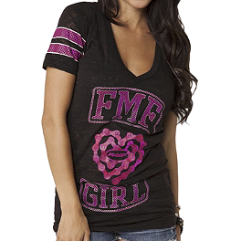 FMF Women's Jenny T-Shirt - Maxima 550 Racing Brake Fluid