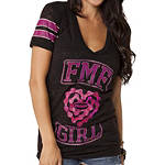 FMF Women's Jenny T-Shirt - Dirt Bike Womens Casual