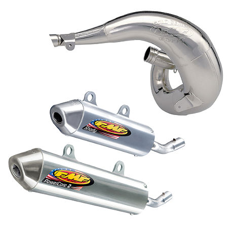 FMF Fatty Pipe & Powercore 2 Silencer Combo - Main