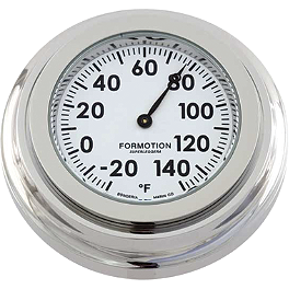 Formotion Flat Mount Thermometer - Formotion Snap Back Classic Series Thermometer