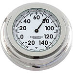 Formotion Flat Mount Thermometer - Formotion Cruiser Dash and Gauges
