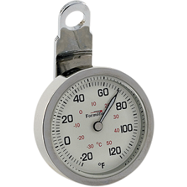 Formotion Night Advantage Thermometer - Kuryakyn Head Bolt Covers - Plain