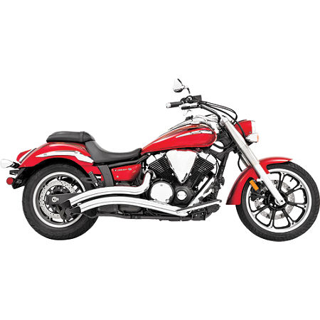 Freedom Performance Radius Exhaust - Chrome - Main