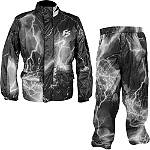 Fieldsheer Thunder Two-Piece Rain Suit - Fieldsheer Dirt Bike Rainwear and Cold Weather