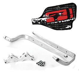 "Fastway Fit Handguard System Version 3 - 7/8"" Bars - Fastway Steering Stabilizer Under-Bar Mount Kit For KTM Machined Triple Clamp"
