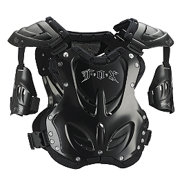 2014 Fox R3 Roost Deflector - Mens  - 2014 Thor Quadrant Chest Protector