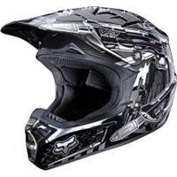 2011 FOX V2 HELMET - MOTOR CITY