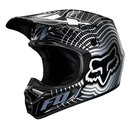 2011 Fox V3 Helmet - Vortex - Main