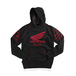 Fox Honda Factory Hoody - FOX MONSTER RICKY CARMICHAEL REPLICA RC4 ZIP FLEECE HOODY
