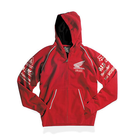 Fox Honda Factory Zip Hoody - Main