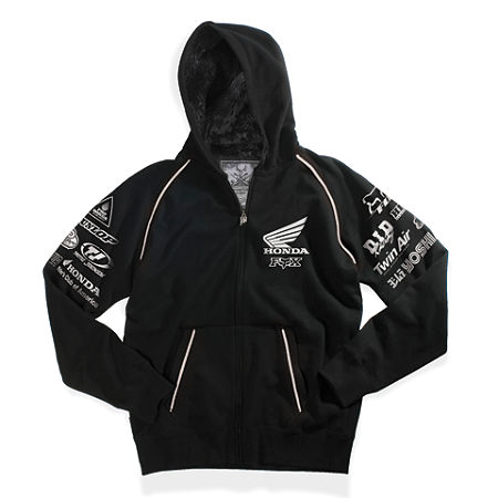 Fox Honda Sasquatch Zip Hoody - Main