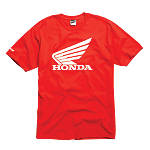 Fox Honda T-Shirt - Fox Dirt Bike Mens Casual