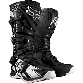 2014 Fox Comp 5 Boots - Undertow  - 2012 Fox V2 Helmet - Race