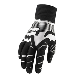 2014 Fox Mudpaw Gloves - Speedy  - 2012 Fox 360 Gloves - Future