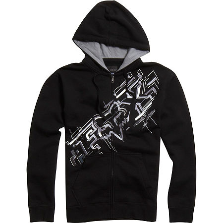 Fox Schematica Zip Front Fleece - Main