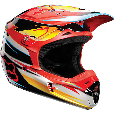 2012 Fox V1 Helmet - Race - Main