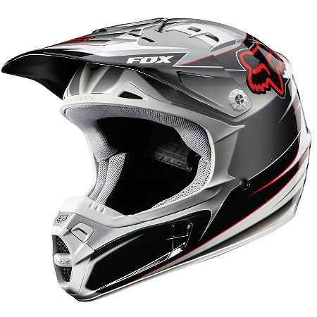 2012 Fox V2 Helmet - Race - Main