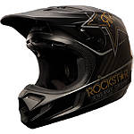 2013 Fox V4 Rockstar Helmet - FOX-FEATURED Fox Dirt Bike