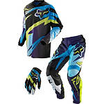 2013 Fox 180 / HC / Dirtpaw Combo - Costa -  Dirt Bike Pants, Jersey, Glove Combos