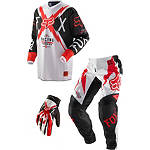 2013 Fox 180 / HC / Dirtpaw Combo - Giant - Utility ATV Pants, Jersey, Glove Combos