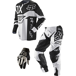 2013 Fox 360 Combo - Machina - 2013 Fox V4 Helmet - Machina
