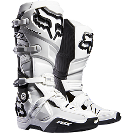2014 Fox Instinct Boots - 2013 Fox V4 Flight Carbon Helmet
