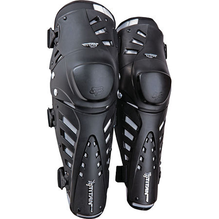 2013 Fox Titan Pro Knee / Shin Guards - Main