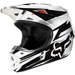 2013 Fox V1 Helmet - Costa - Discount & Sale Utility ATV Helmets