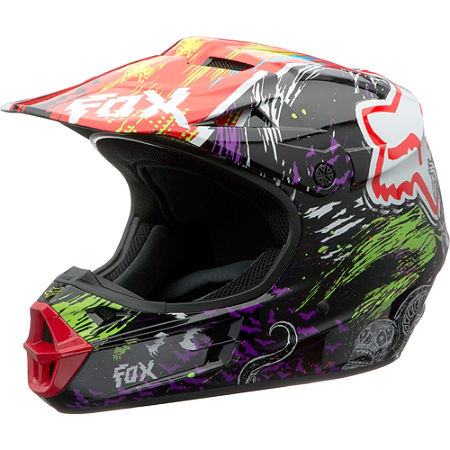 2013 Fox V1 Helmet - Pestilence - Main