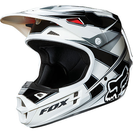 2013 Fox V1 Helmet - Race - Main