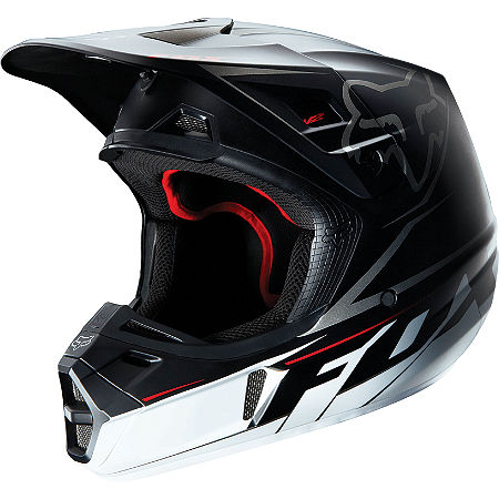 2013 Fox V2 Helmet - Matte - Main