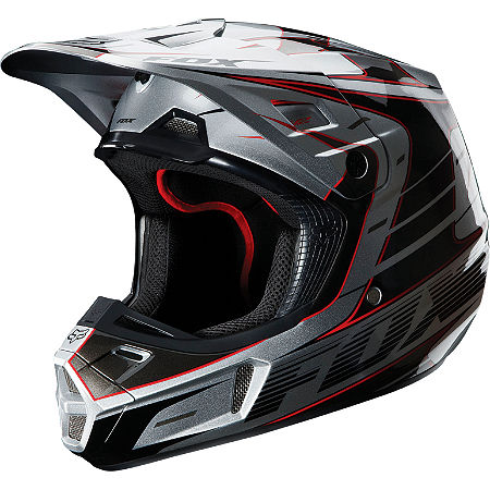 2013 Fox V2 Helmet - Race - Main